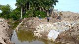 Nam Trực (Nam Định): Lấp sông tưới tiêu để làm dự án