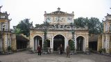 Độc đáo nghệ thuật kiến trúc Đình Xám (Nam Định)
