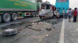 Nam Định: Ô tô gây tai nạn giao thông liên hoàn, 11 người đi cấp cứu