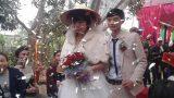 Cặp đôi chồng kém vợ 2 giáp làm đám cưới gây xôn xao từng bị hai gia đình phản đối không cho yêu nhau