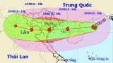 Sáng mai (19-8), bão số 3 giật cấp 10-11 sẽ đi vào đất liền nước ta