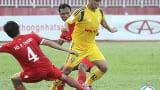 Nam Định ăn mừng chiến thắng đầu tiên ở giải hạng nhất
