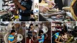 Những hình ảnh về 'phù thủy' kèn đồng Nam Định