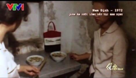 Nam Định: Cửa hàng ăn uống dưới hầm