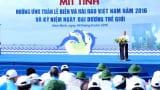 Lễ mít tinh hưởng ứng tuần lễ biển và hải đảo tại Nam Định