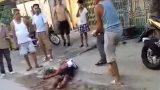 Nam Định: côn đồ mang dao phóng lợn vào tận nhà dân truy sát dã man