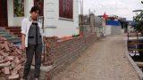 Chuyện lạ ở Nam Định: Xây tường bao trên đất nhà… bị lập biên bản
