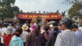 Dừng lễ hội Khai ấn Đền Trần 2020 đề phòng dịch do virus corona