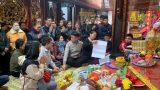 Nam Định: Hàng nghìn du khách đổ về lễ hội đền Trần