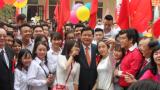 Bí thư Thành ủy TP.HCM Đinh La Thăng dự Lễ kỷ niệm 45 năm thành lập Trường THPT Ngô Quyền (Nam Định)