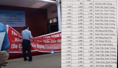[Nam Định] Bắt nhân viên ngân hàng lập hồ sơ chiếm đoạt 16 tỷ đồng