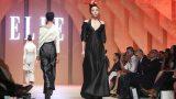Kỳ Duyên diện váy xẻ sâu làm vedette ở Elle Show