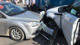 Nam Định: Tai nạn liên hoàn, giao thông ùn tắc