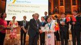 Nam Định: Con gái người bán phở đoạt 2 HCV Vật lý quốc tế