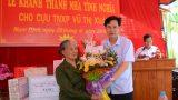 Trao nhà tình nghĩa cho cựu TNXP ở Nam Định