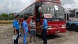 Nam Định: Mở cao điểm kiểm tra điều kiện an toàn xe khách
