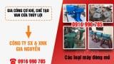 Công ty gia công cơ khí, chế tạo van cửa thủy lợi