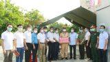 Thăm, động viên các lực lượng làm nhiệm vụ chốt kiểm soát phòng, chống dịch Covid -19 huyện Giao Thủy.