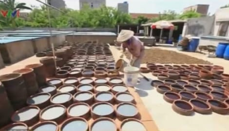 Về Nam Định thăm làng nghề nước mắm Sa Châu