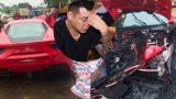Ca sĩ Tuấn Hưng nói về thiệt hại khi sửa chữa siêu xe 16 tỷ gặp tai nạn nát đầu