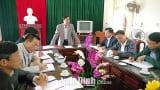 Đảng bộ Giao Thủy nâng cao chất lượng công tác kiểm tra, giám sát