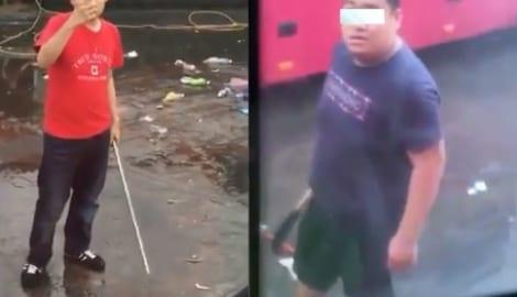 Clip Xe khách Nam Định bị nhóm người chém hội đồng tại Quảng Ninh