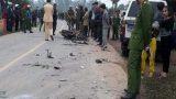 Trên xe biển xanh tông chết 3 người có Phó chủ tịch huyện