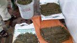 Đào đất sửa nhà thờ họ, bất ngờ phát hiện hơn 1,4 tạ tiền xu xâu thành khối