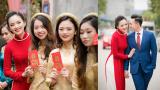 Top 10 HHVN Tố Như làm lễ ăn hỏi với hotboy trường Cảnh sát quê Nam Định