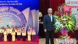 Tuyên dương học sinh giỏi tham dự kỳ thi chọn học sinh giỏi quốc gia năm học 2017-2018