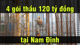 Vạn Xuân đang thi công cùng lúc 4 gói thầu 120 tỷ đồng tại Nam Định