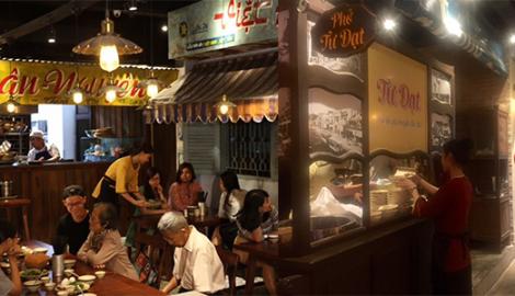 Phở Tư Đạt nổi tiếng Nam Định trong quán ăn đường phố của đại gia Việt