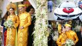 Lễ Vu quy Lâm Khánh Chi: Quà cưới vàng ròng, Chú rể Nam Định rước dâu bằng xe sang 7 tỷ đồng
