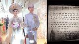 Chồng kém 8 tuổi bật khóc trước lá thư viết tay của Lâm Khánh Chi trong đêm tân hôn