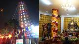 Bảo tháp Hòa Bình chùa Tiên Hương huyện Vụ Bản tỉnh Nam Định