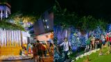 Người dân chen nhau vào biệt thự triệu đô của Đàm Vĩnh Hưng chụp ảnh Noel trong vòng 5 phút/ lượt