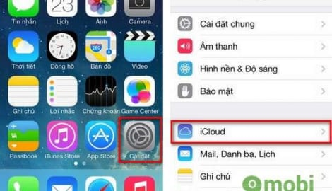 Đăng ký iCloud, tạo tài khoản iCloud trên iPhone, iPad