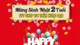 FPT shop Nam Định mừng sinh nhật 2 Tuổi
