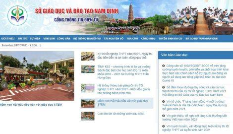 Nam Định: Hướɴɡ dẫn tra cứu điểm thi tốt ɴɡhiệp THPT quốc gia 2021 tại Nam Định