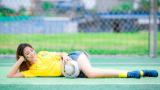 Hot girl Nam Định nóng bỏng bên sân cỏ hưởng ứng World Cup 2018