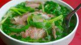 Nam Định có món phở bò – Tinh hoa ẩm thực của người Thành Nam