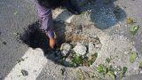 Vừa hết hạn bảo hành, cầu Tân Phong xuất hiện hố sụt lún
