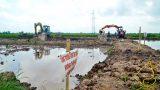 Chùm ảnh: Diễn biến vụ móng cột điện 220kV đổ bê tông trộn đất