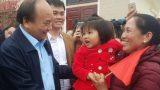 Nam Định: Thủ tướng về thăm và chúc tết nhân dân huyện Xuân Trường