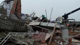 Nam Định: Sập giàn giáo đổ bê tông làm 8 người thương vong