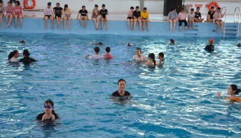 Phát động người dân toàn tỉnh Nam Định tập luyện bơi