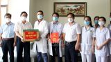 Đoàn công tác Đại học Điều dưỡng Nam Định hoàn thành nhiệm vụ hỗ trợ phòng, chống dịch