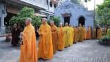 Hạ trường chùa Cả TP. Nam Định làm lễ Khai Pháp