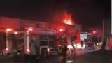 Hỏa hoạn thiêu rụi 1 ki ốt ở Nam Định