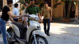 Bắt đối tượng chưa đầy 3 tháng gây ra 13 vụ trộm xe máy